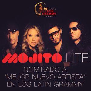 Mojito Lite Nominado a los Grammy Latinos